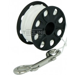Tecline spool RVS double ender